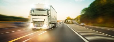 truck-driving-on-the-m1-motorway-in-united-kingdom-picture-id1183237250
